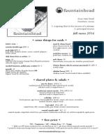 night menu 10.20.14