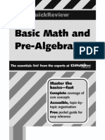 Basic Math and Pre-Algebra - Cliffs Quick Review - J. Bobrow (2001) WW.pdf