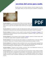 8 secretos del arroz para Sushi.pdf