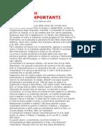 Benni, Stefano - Informazione, Le Cose Importanti