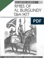 Armies of Medieval Burgundy 1364-1477