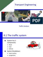 CIV3703 - 8A Traffic Analysis