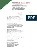 Notice Page 1
