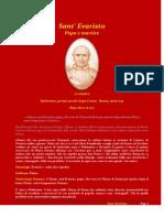 27 ottobre sant evaristo papa e martire