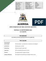 220914 Hobart City Council Agenda