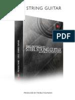 8dio Steel String Guitar Read Me