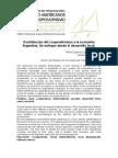 Contribución del cooperativismo a la economía Argentina. Un enfoque desde el desarrollo local.