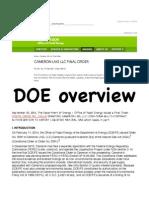 Ground Zero - DOE Environmental Overview