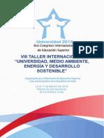 """Revista Congreso de Educación Internacional. pdf. Ponencia """"LA INTERNACIONALIZACIÓN DE LA EDUCACIÓN UNIVERSITARIA"""