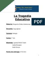 La Tragedia Educativa.doc
