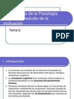 Tema 5. Aportaciones de la Psicol. cognitiva al estudio de la motivación..ppt