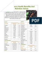 Blackberry Health Benefits and Nutrition Value1