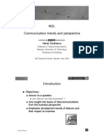 Communication Trends and Perspective (MIS)