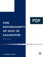 The Sovereignty of God in Salvation Biblical Essays