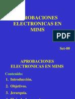 Aprobaciones Electronicas.ppt