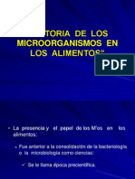 S- 01 HISTORIA DE LOS MICROORGANISMOS EN LOS ALIMENTOS[1].ppt