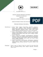 UU Nomor 22 Tahun 2014 Ttg Pemilihan Gubernur, Bupati, Dan Walikota