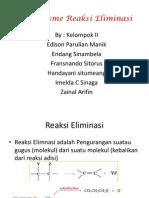 mekanisme Reaksi Eliminasi