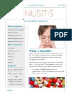 sinusitis handout - qsen project copy