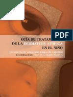 Guia dermatitis niño