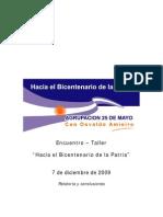 """""""Hacia el Bicentenario de la Patria"""" Agrupación 25 de Mayo San Fernando"""