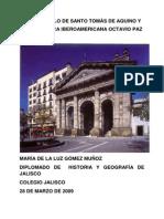 El  Extemplo de Santo Tomás de Aquino y la Biblioteca Iberoamericana Octavio Paz.docx