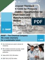3 European Standard en 13445 for Pressure Vessels - Klipfel Quing Wei