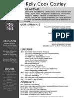 k cook principal resume 2014