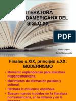 LITERATURAHISPANOAMERICANADELSIGLOXX.ppt