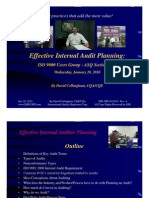 How to Conduct Effective Internal Audit Planning