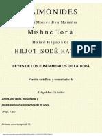 Leyes De Los Fundamentos De La Torah (Maimonides).pdf