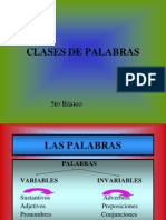 las palabras 5to A.ppt