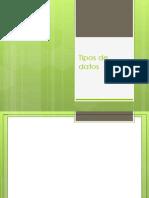 clase 009  tipos de datos 1 - DDL intro .pptx