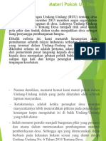 Materi Pokok UU Desa.pptx