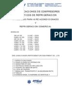 CARACTERISTICAS TECNICAS DE COMPRESORES DE REFRIGERACION.pdf