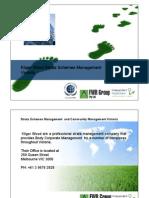 Strata Schemes Management Act VICTORIA Presentation Kliger Wood