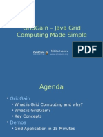 GridGain - Grid Computing Made Simple
