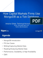 using mongodb as a tick database 2013