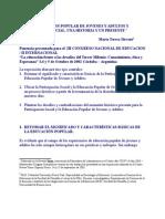 SIRVENTPONENCIASOBREEDUCACIONPOPULARDEJOVENESYADULTOS_1_[1]..doc