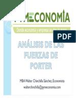 Análisis de las fuerzas de Porter modificado