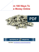 100 Ways to Make Money Online