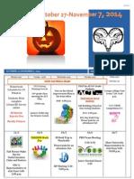 Raminders October 27-November 7, 2014
