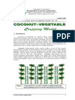 Coconut Vegetable Cropping Model