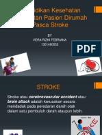 Pendidikan Kesehatan Perawatan Pasien Dirumah Pasca Stroke