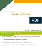Gestión de Calidad - Proyectos..ppt