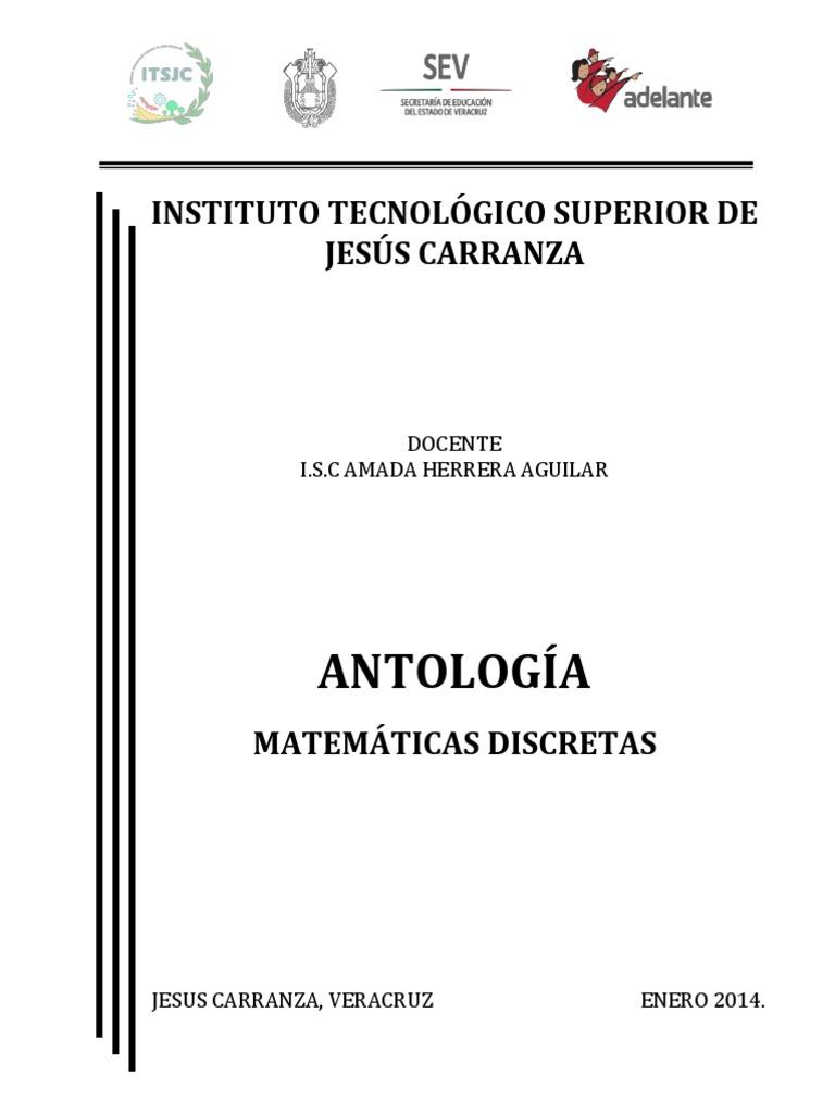Lujoso Hojas De Trabajo De Matemáticas Discretas Imagen - hojas de ...