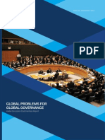 Global problems for global governance