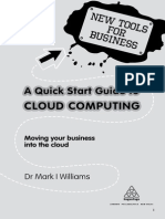 A QuickStart Guide to Cloud Computing