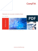 CompTIA Trends in Cloud Computing Report -4th Annual Trends in Cloud Computing -Full Report