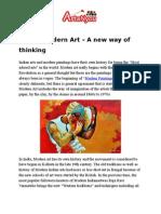 Modern Art – a New Way of Thinking